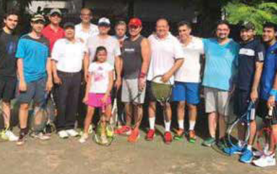 RCB Tennis Tournament
