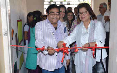 Dr. Mukesh Batra and Shernaz.